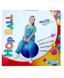 Playwell Hop Ball Multicolor - Diameter 50 cm