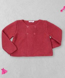 Bout Chou Stylish Sweater - Indian Red