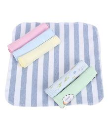 Mee Mee Multi Print Napkins Pack Of 6 (Color May Vary)