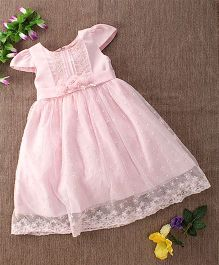 Mini World Floral Design Dress - Pink