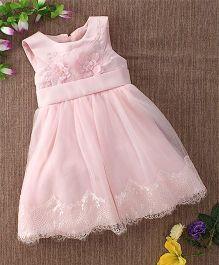 Mini World Floral Print Dress - Pink