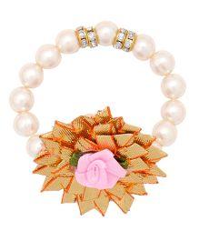 Miss Diva Ethnic Gotta Flower Bracelet - Pink