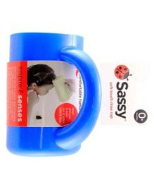 Sassy Soft Touch Rinse Cup Blue - 850 ml