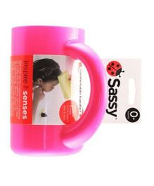 Sassy Soft Touch Rinse Cup Pink - 850 ml