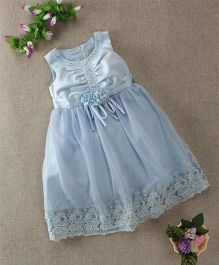 Mini World Baby Dress - Blue