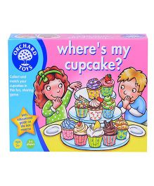 Orchard Where's My Cup Cake Puzzle - Multicolor