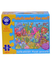 Orchard Who's under the Sea Puzzle - 20 Pieces