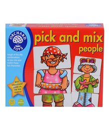 Orchard Pick and Mix People Puzzle - Multicolor