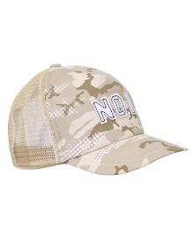Boutchou No.1 Print Cap - Multicolour