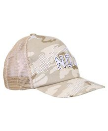 Boutchou No.1 Print Cap - Brown