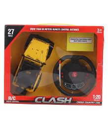 Smiles Creation Clash Remote Control Car - Yellow