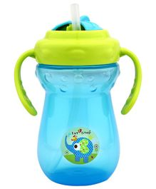 1st Step 2 Handle Cup With Straw Sipper Blue - 250 ml