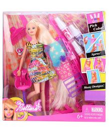Smiles Creation Bettina Hair Art Designer Doll Multicolor - 29 cm