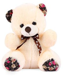 Dimpy Stuff Medium Master Bear Soft Toy Cream - 32 cm
