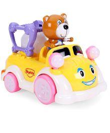 Mitashi Skykidz Carnival Kart Bear - Brown Yellow