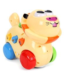 Mitashi Skykidz Happy Go Lucky Pet Toy - Light Yellow