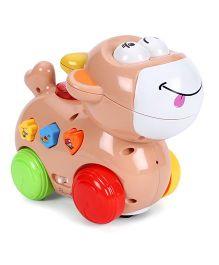 Mitashi Skykidz Happy Go Lucky Pet Toy - Peach