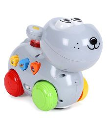 Mitashi Skykidz Happy Go Lucky Pet Toy - Grey
