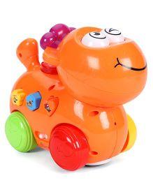 Mitashi Skykidz Happy Go Lucky Pet Toy - Orange