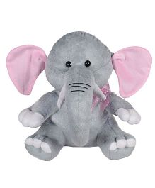 Ultra Elephant Soft Toy Grey - Height 28 cm