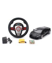 Mitashi Dash Lamborghini Huracan LP610 4 Remote Control Car - Black