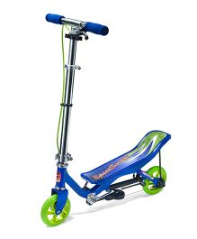 Space Scooter Ride On Junior X360 - Blue