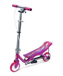 Space Scooter Ride On Junior X360 - Pink