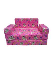 Barbie Kids Sofa Cum Bed - Pink