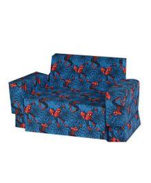 Spiderman Kids Sofa Cum Bed - Blue