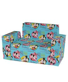 Mickey Kids Sofa Cum Bed - Multicolor