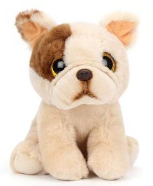 Keel Sparkle Eye Puppy Soft Toy Cream - 15 cm