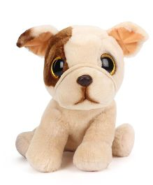 Keel Sparkle Eye Puppy Soft Toy Cream - 25 cm
