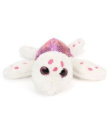Keel Sparkle Eye Turtle Soft Toy Pink - 18 cm