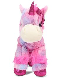 Keel Glitter Gems Unicorn Soft Toy Multi Color - Height 30 cm