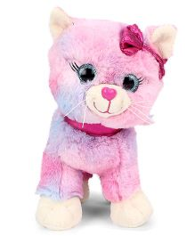 Keel Glitter Gems Kitten Soft Toy - Height 25 cm