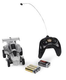 Mitashi Dash Transformable Robo Remote Controlled Car - Silver Black
