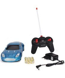 Smiles Creation Remote Control Car Toy - Blue Gold