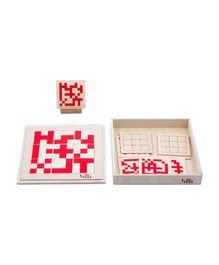 Eduedge Let's Solve Analytical Basic Puzzle - Blue Cream