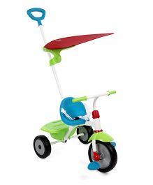 Smartrike Fun Plus 2 in 1 Tricycle - Blue & Green