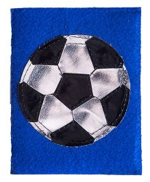 Li'll Pumpkins  Football Small Diary - Blue