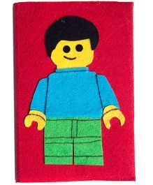 Li'll Pumpkins Lego Boy Medium Diary - Red