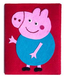 Li'll Pumpkins Big Peppa Pig Diary - Pink