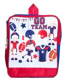 Li'll Pumpkins Go Team Backpack - Pink & Multicolour