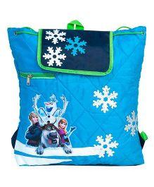 Li'll Pumpkins Quilted Frozen Backpack - Aqua Blue