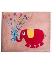 Li'll Pumpkins Elephant Drawing Book - Beige
