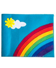 Li'll Pumpkins Rainbow Drawing Books - Aqua Blue