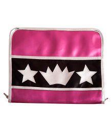 Li'll Pumpkins Crown And Star Clip Organiser - Pink