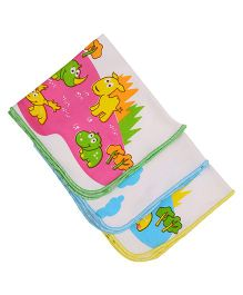 MomToBe Animal Print Baby Napkins - Multicolor