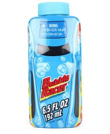 Comdaq Bubble Racer Solution Bottle - Blue