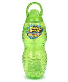 Comdaq Bubble Solution Bottle With Handle - Green